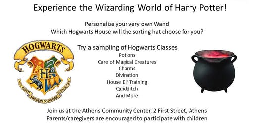 D. R. Evarts Library presents Harry Potter Day!