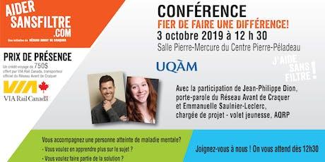 CONFÉRENCE / Fier de faire une différence! tickets