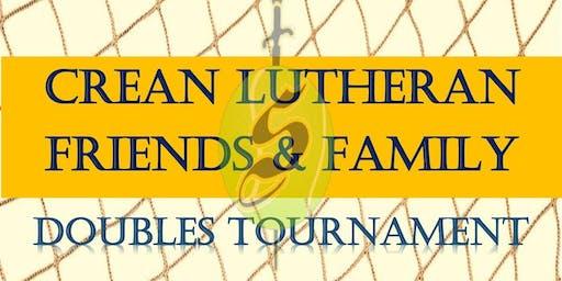 Crean Lutheran High School Tennis Doubles Tournament