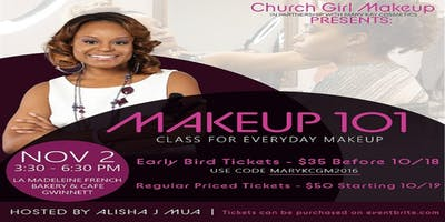 Church Girl Makeup 101 Class