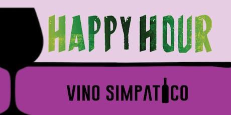 HAPPY HOUR @ VINO SIMPATICO tickets