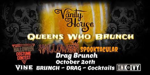 Queens Who Brunch Halloween Spooktacular