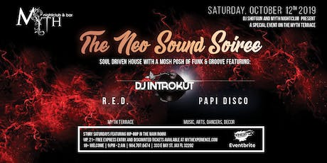 The Neo Sound Soiree at Myth Terrace   Saturday 10.12.19 tickets
