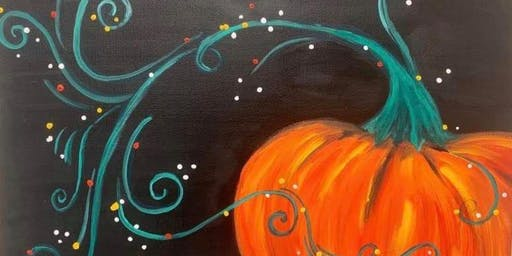 IT'S THE GREAT PUMPKIN PAINTING PARTY!