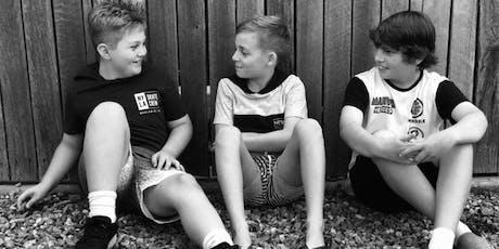 Boys Empowerment Workshop (7-12  yrs) tickets