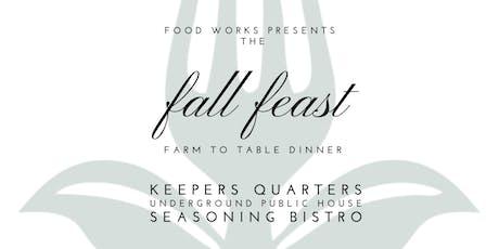 Fall Feast tickets