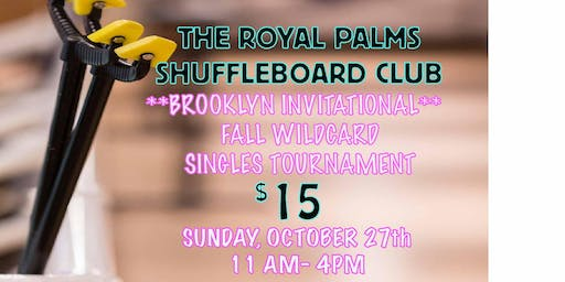 Waitlist Entries to The Brooklyn Invitational: Fall Wildcard Tournament