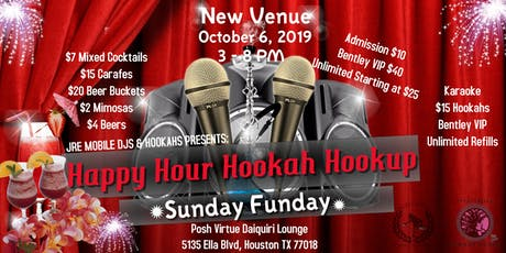 Happy Hour Hookah Hookup tickets