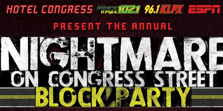Nightmare on Congress Street tickets