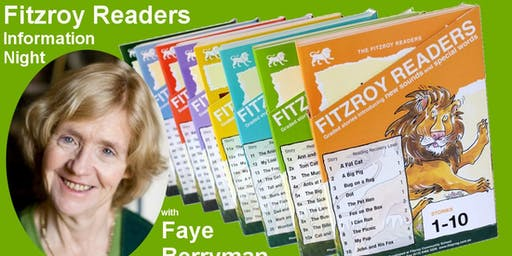 Fitzroy Readers Information Night with Faye Berryman