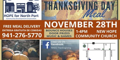 Free Thanksgiving Meal Outreach