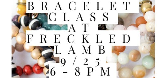 Stacking bracelet class
