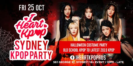 SYDNEY KPOP PARTY | HALLOWEEN SPECIAL | FRI 25 OCT tickets