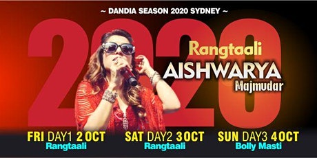 Rangtaali 2020 by Aishwarya Majmudar in Sydney tickets