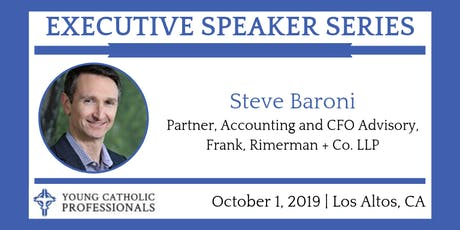 October Executive Speaker Series with Steve Baroni tickets