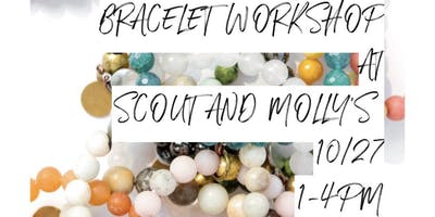 DIY Bracelet workshop with Whiskey and Bone at Scout and Molly's in Leawood