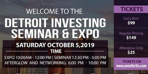 Detroit Investing Seminar and Expo - Detroit Home Team Edition