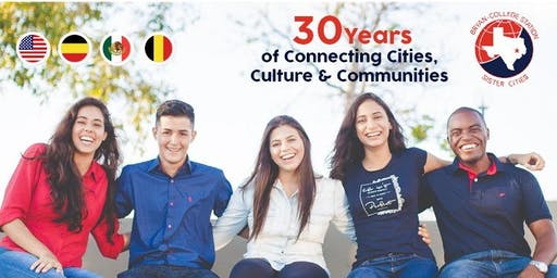 Sponsorship Tickets: B-CS Sister Cities International 30th Anniversary and Annual Awards Banquet