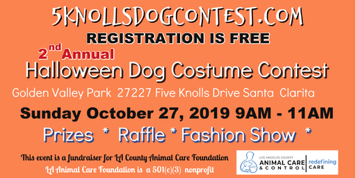 Five Knolls Halloween Dog Costume Contest
