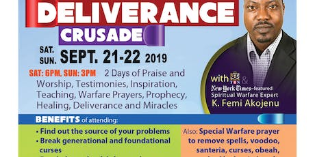 Healing, Miracle and Deliverance Crusade tickets
