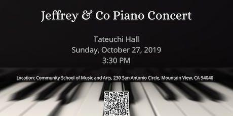 Jeffrey & Co Piano Concert tickets