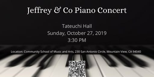 Jeffrey & Co Piano Concert