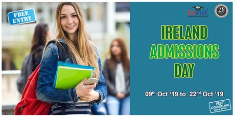 Ireland Admissions Day in Bangalore tickets