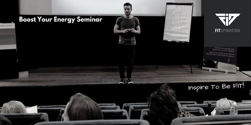 Boost Your Energy Seminar
