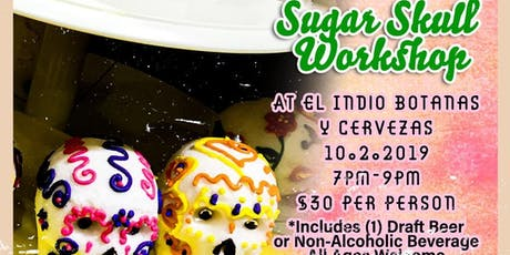 Viva La Vida Sugar Skull Workshop tickets
