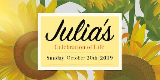 Julia's Celebration of Life