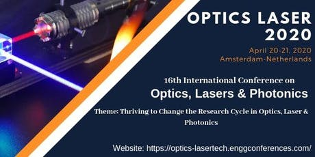 Optics Conference tickets