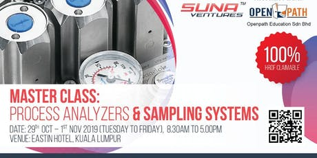 Master Class: Process Analyzers & Sampling systems tickets