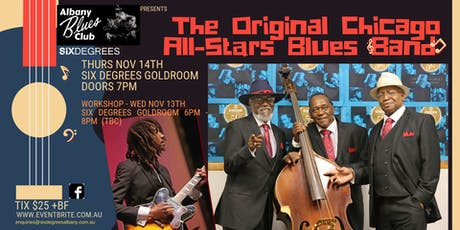 Albany Blues Club Presents The Original Chicago All Stars Blues Band tickets
