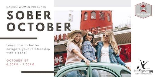 Daring Women Presents - Sober October