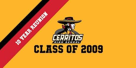 Cerritos High School | Class of 2009 Reunion tickets