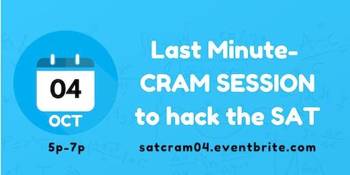 SAT CRAM SESSION (OCT)