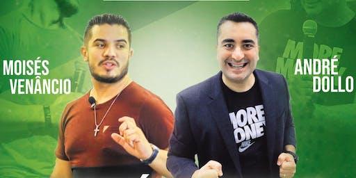 Money Mind7 Finanças & Propósito em Feira de Santana - Bahia com André Dollo e Moisés Venâncio