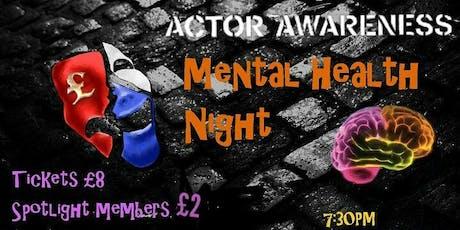 Mental Health Night tickets