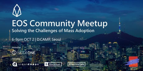 EOS Community Meetup @Seoul tickets