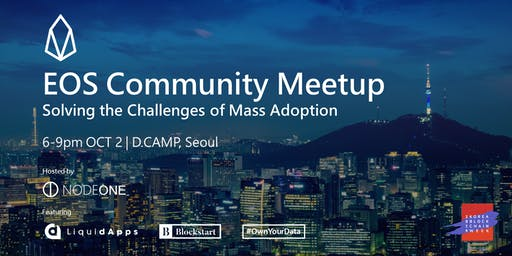 EOS Community Meetup @Seoul
