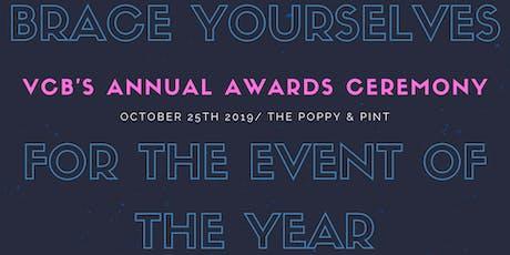 VCB Annual Awards Dinner tickets