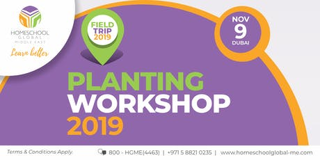 Planting Workshop 2019 tickets
