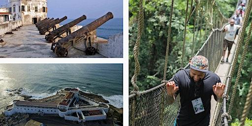 The Trip Of The Return(Cape Coast,Elmina,Kakum,Beach)- LIVING GHANA