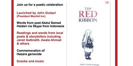 The Red Ribbon - Book Launch - Abdul Samad Haidari writes from exile. tickets