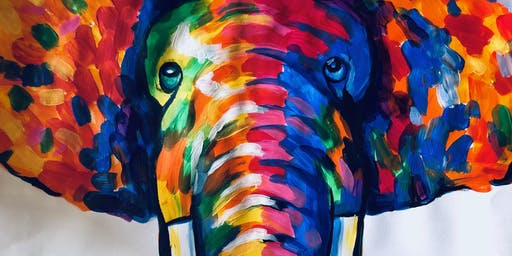Colour Your World - Elephant Love