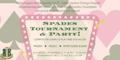 Seattle AKAs Spades Party