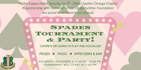 Seattle AKAs Spades Party tickets