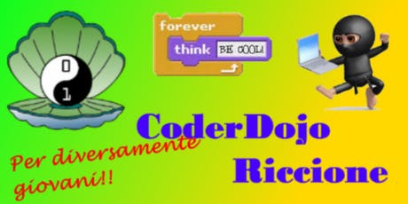 CoderDojo Riccione per diversamente giovani #2 biglietti