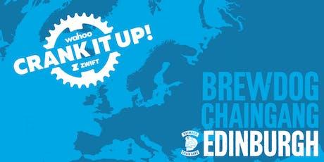 Crank it up! Edinburgh | Wahoo x Zwift tickets