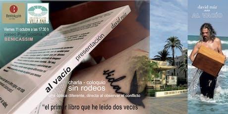 PRESENTACION libro AL VACIO en BENICASSIM entradas
